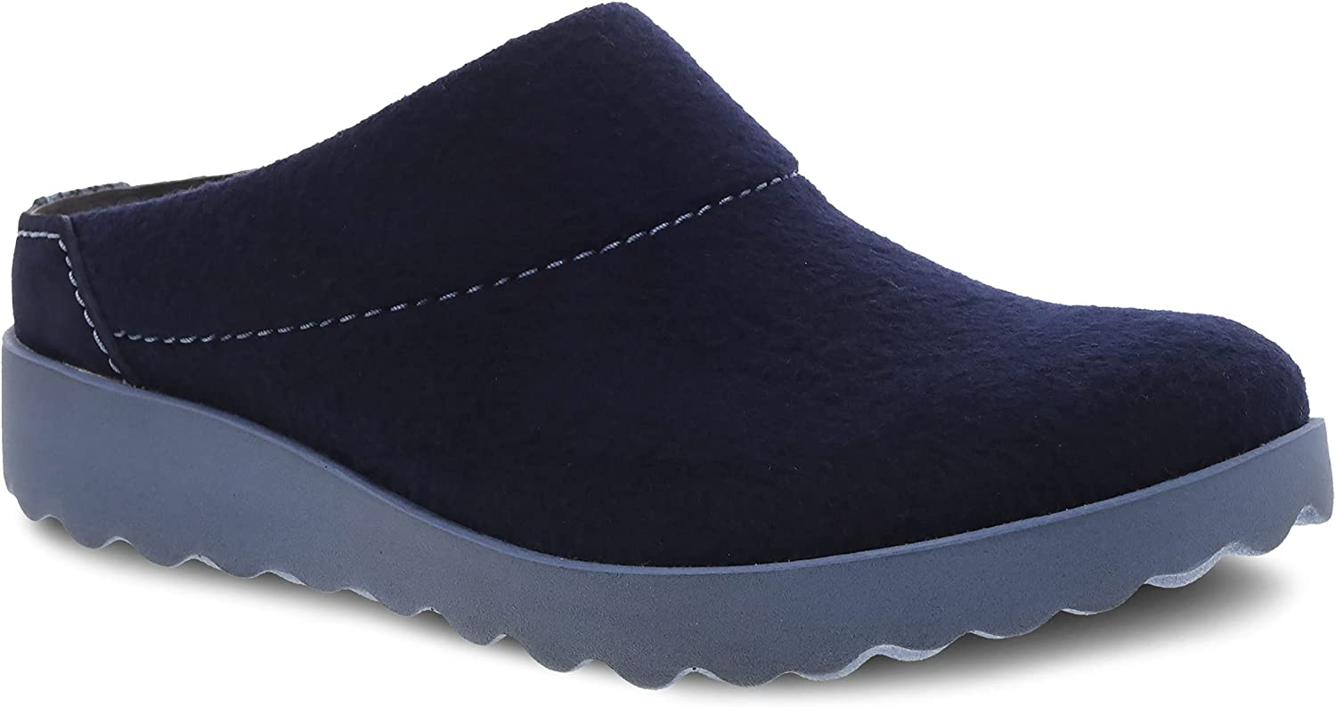 Dansko Women's Latest item Lucie Wool Slipper with NEW before selling ☆ Sole Sup Arch Outdoor and