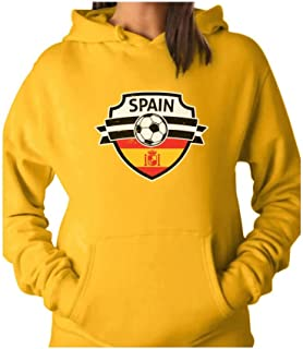 Tstars - Spain Soccer/Football Team Fans Women Hoodie