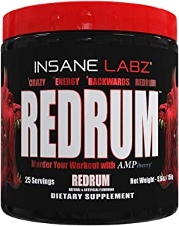 redrum pre workout ingredients
