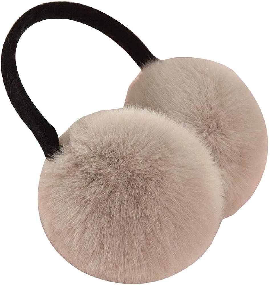 Cute Animal Soft Earmuffs Winter Warm Outdoor Ear Covers Headband Fur Ear warmer,#13
