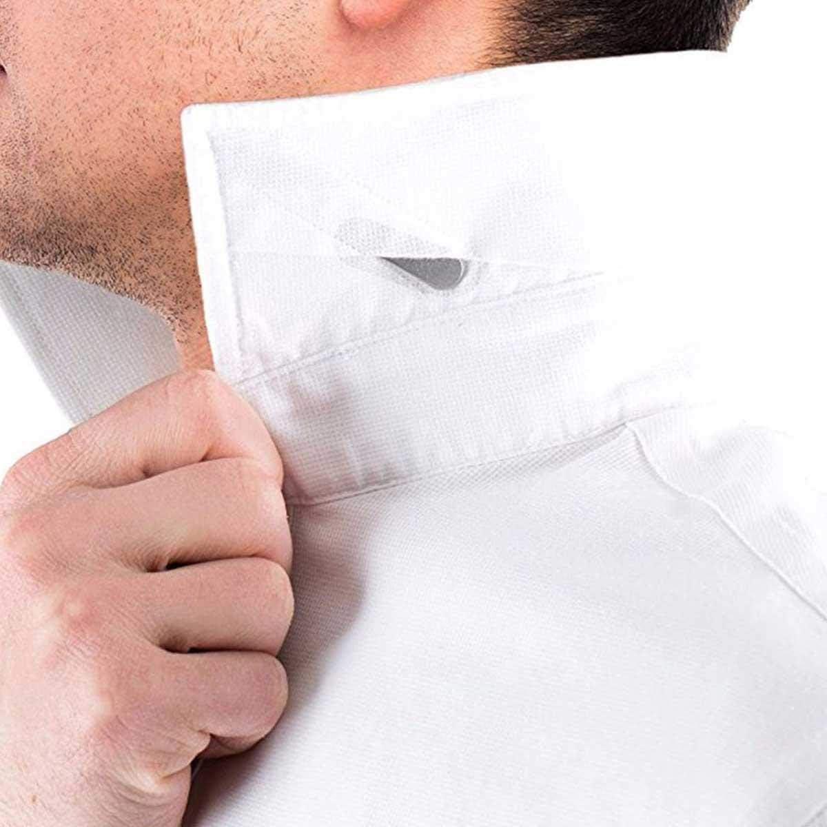 6 Ballenas Camisa Metal con 6 Imanes, AOLVO Ballenas Magneticas Camisa Cuello Camisa Varillas Collar Stays para Hombre, 3 Tamaños en una Caja de ...