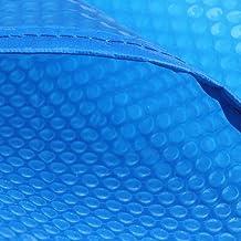 Cobertor Solar para Piscinas Cubierta De Manta Solar Rectangular Piscina De Aluminio For Piscina Enterrada, Azul 400 Μm Cubierta De Piscina Gruesa Retención De Calor Solar (Size : 2.2×4.5m)