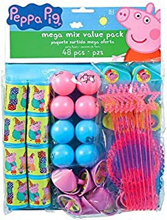 American Greetings Peppa Pig Favor Pack, 48-Count