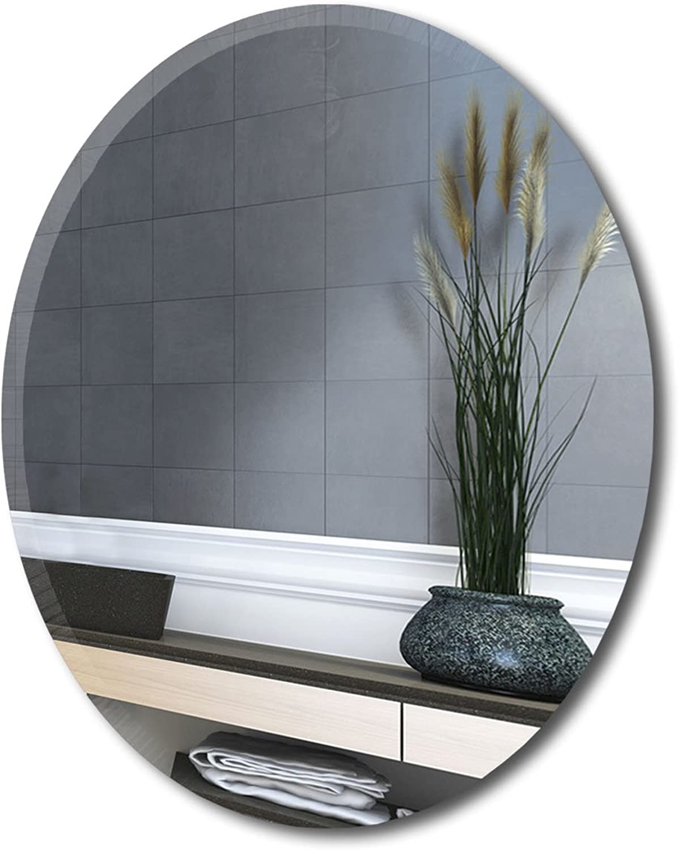 MirrorsHome   Round Circum Wall Mirror with Beveled Edge 31.inch X 31.inch