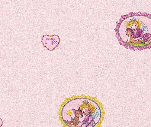 Tapete Lillifeen 121001 rosa 1 Rolle Spiegelburg