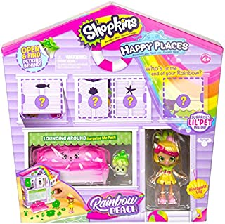 Shopkins Happy Places Rainbow Beach Furniture Set - Lounging Around