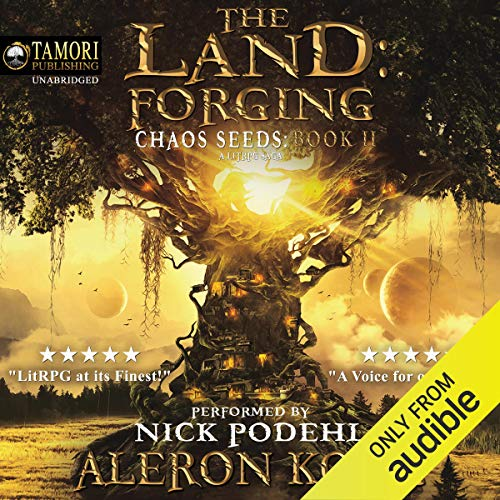 Page de couverture de The Land: Forging
