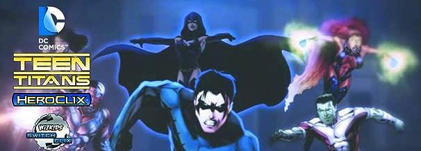 Teen Titans Heroclix Booster Brick  [8 regular boosters + 1 super booster]