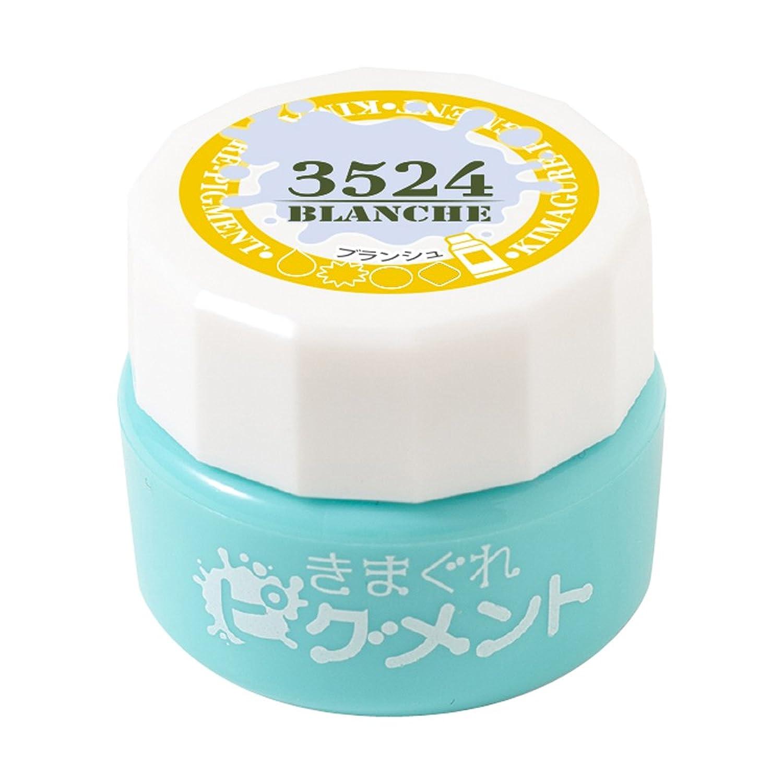Bettygel きまぐれピグメント ブランシュ QYJ-3524 4g UV/LED対応