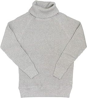 [ヘルスニット] 997 スーパーヘビーワッフル タートルネック 長袖Tシャツ HK009