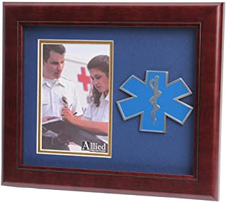 Allied Frame US Air Force Wings Medallion Portrait Picture Frame - 4 x 6 Picture Opening