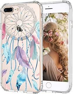 MOSNOVO iPhone 8 Plus Case, iPhone 7 Plus Case, Dream Catcher Clear Design Printed Transparent Hard Back Case with TPU Bumper Protective Case Cover for iPhone 7 Plus/iPhone 8 Plus
