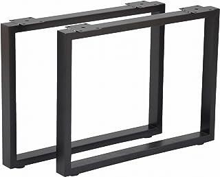エイ・アイ・エス (AIS) テーブル脚 ブラック 630x85x470mm テーブルキッツ脚 TBK-470ST BK