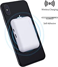 iWALK Qi Wireless Portable Charger Power Bank 3000mah by Sticking to Phone, Compatible with iPhone Xs, XR, X, 8, 8 Plus, Samsung Galaxy S10, S10+, S9, S9+, S8, S8+, Note 9, Nexus, HTC and More, White