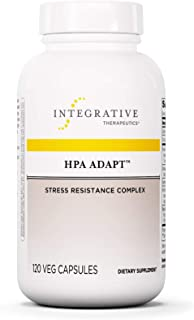Integrative Therapeutics - HPA Adapt (Hypothalamic Pituitary Adrenal) with Ashwagandha, Maca, and Rhodiola - Daytime Stres...