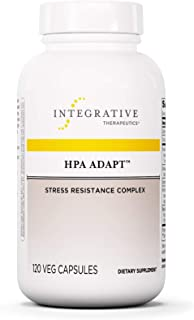 Integrative Therapeutics - HPA Adapt (Hypothalamic Pituitary Adrenal) with Ashwagandha, Maca, and Rhodiola - Daytime Stress Relief - 120 Vegetable Capsules
