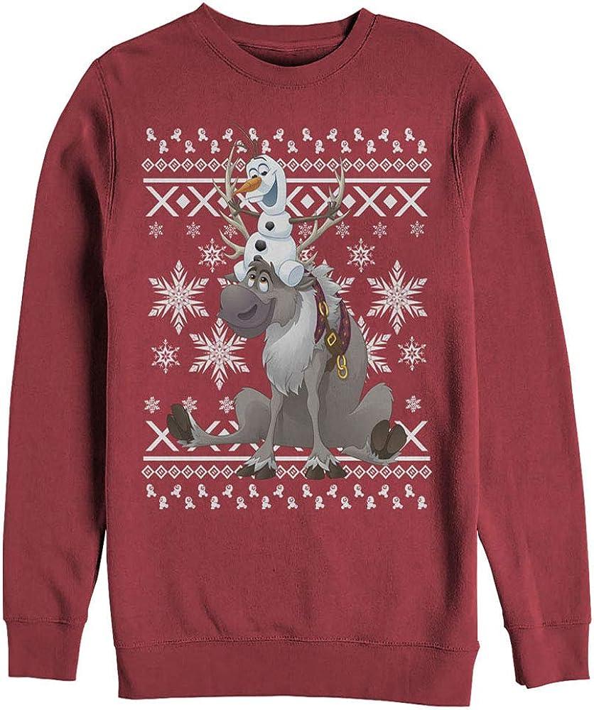 Fifth Japan's largest assortment Sun Women's Frozen Challenge the lowest price Friends Ugly Sweatshirt Christmas