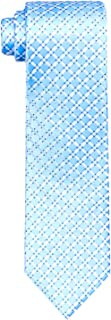 Van Heusen Men's Silk Tie, Blue Diamond Check, One Size