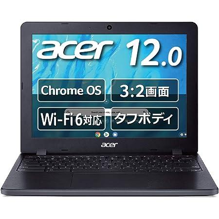 Chromebook Acer 12.0型 ノートパソコン C871T Celeron<R> 5205U 4GBメモリ 64GB eMMC 米軍用規格(MIL-STD 810G)準拠 耐衝撃モデル 防滴 日本語キーボード タッチパネル搭載 C871T-A14P