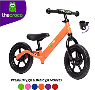 TheCroco Lightweight Balance Bike for Toddlers and Kids�