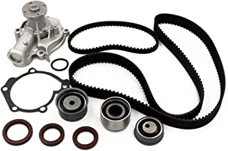 Timing Belt Kit Water Pump w/Tensioner Fits 2.4L G4JS 1999-2006 Hyundai Sonata Santa Fe Kia Optima 16v