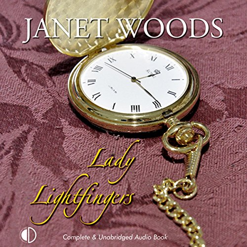 Lady Lightfingers audiobook cover art