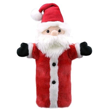 The Puppet Company Manches Longues Père Noël/Père Noël Marionnette à Main PC006060