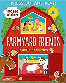 Farmyard Friends Puzzle Activities