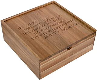 Carson Lord's Prayer Keepsake Box