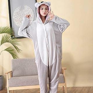Ladies Flanella in Pile Rabbit Design Super Morbido Pigiama Set