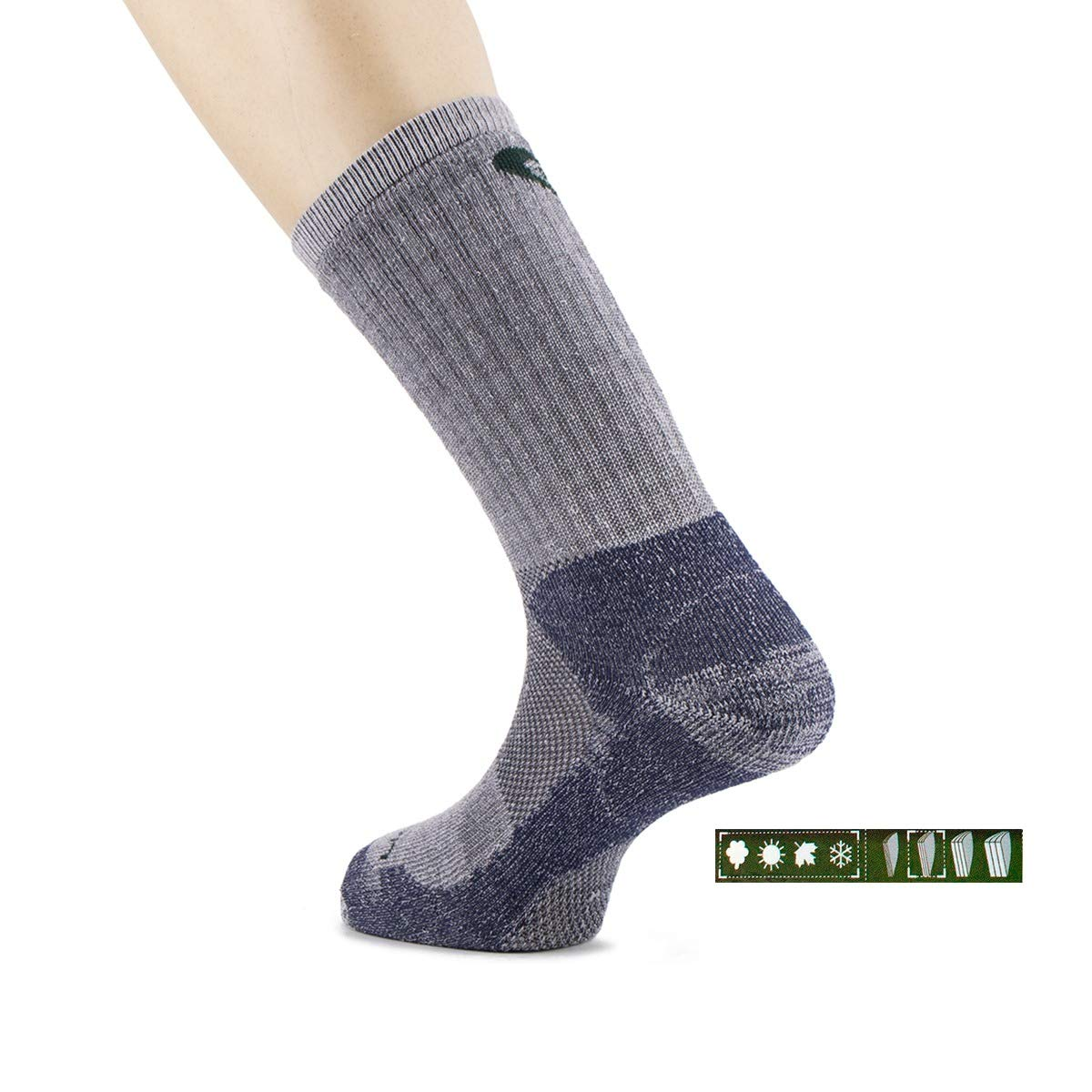 Unisex Adulto Lorpen Liner Socks Coolmax Calcetines de Forro
