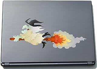 Naklejka na laptopa - czarownica 10 - witch - laptop skin - 297 mm naklejka