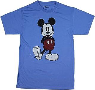 تي شيرت Disney رجالي كامل الحجم بتصميم مستوحى من شخصية ميكي ماوس
