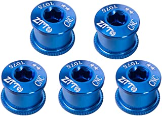 VGEBY1 2 Piezas Tapas de bielas bielas Cubierta Tapa de Tornillo para Bicicleta