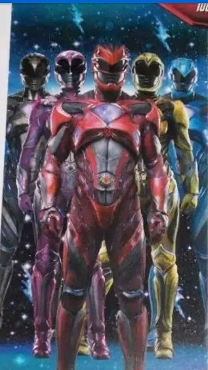 Power Rangers Beach Towel