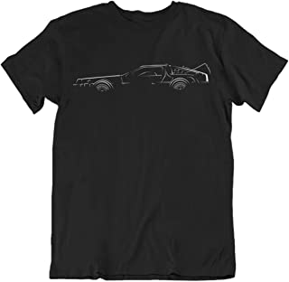 Bodylined Delorean Back to The Future Premium Driving Apparel Icon T-Shirt