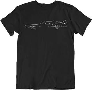 Bodylined Delorean Back to The Future Premium Driving Apparel Icon T-Shirt