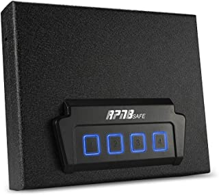 RPNB Portable Security Safe, Quick-Access Dual Firearm Safety Device with Quick Reliable Keypad Access