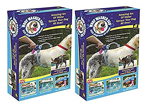 Woof Washer 360 - Perfect Dog Washing Station for Your Dog (2 Pack)