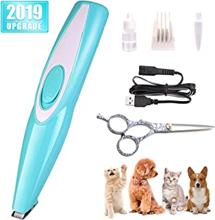 STARRYFIELD Dog Clippers- Rechargeable Cordless Cat and Dog Clippers, Low Noise Electric Pet Trimmer, Pet Clipper for Trimming The Hair Around Face, Eyes, Ears, Paw, Rump