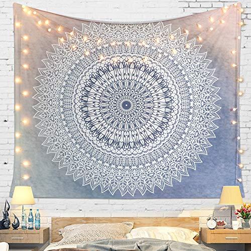 Wandtuch Boho Wandbehang Mandala Tapisserie Indisch Wandteppich ohemian Psychedelic komplizierte Wohnheim hippie decke groß