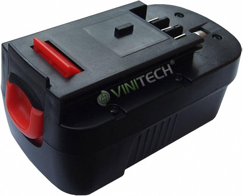 Vinitech Akku passend für schwarz & Decker Akku-Astsäge Ni-Mh 18V 3000mAh B007Z1OCSI | Erste Qualität