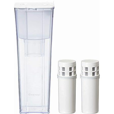 クリンスイ 浄水器 カートリッジ 交換用 ポット型 お買得セット CP012-WT + カートリッジ1個 増量 CP012W-WT