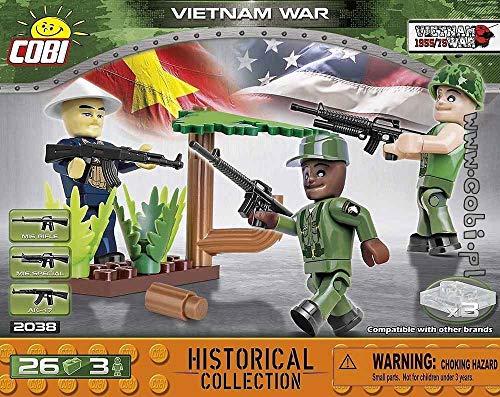Cobi COB02038 - Guerra del Vietnam (26 pezzi)