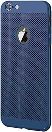 537f2d73630 Funda iPhone 6 6s Plus, Ultra-Delgado Disipadores de Calor Carcasa 360° Anti