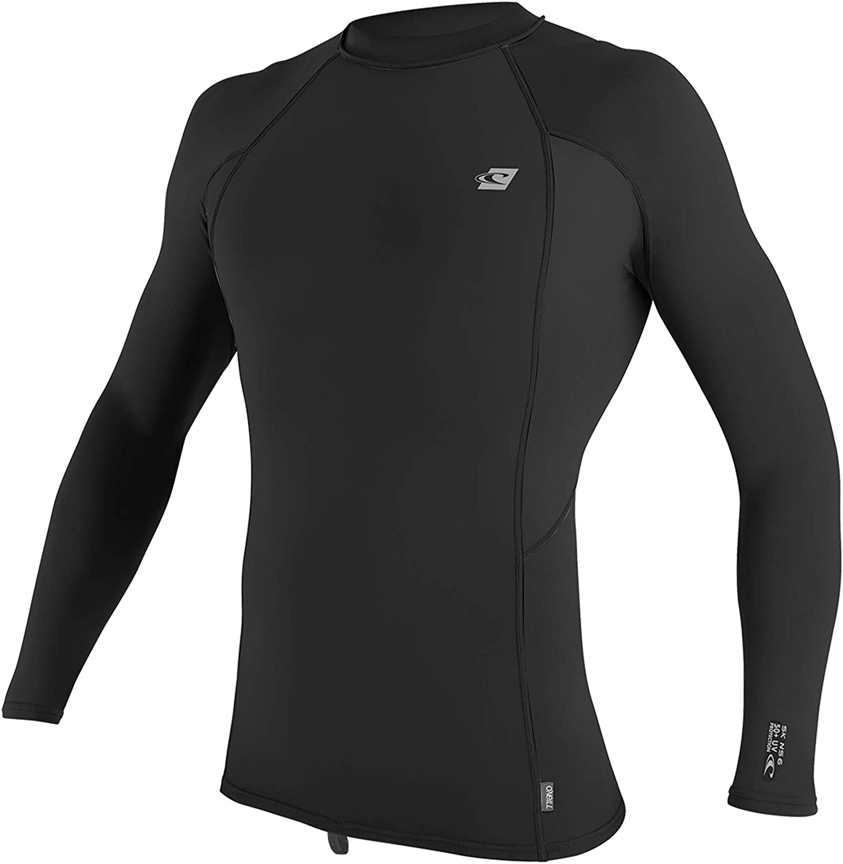 O'Neill Wetsuits mens Men's Premium Skins Long Sleeve Rash Guard