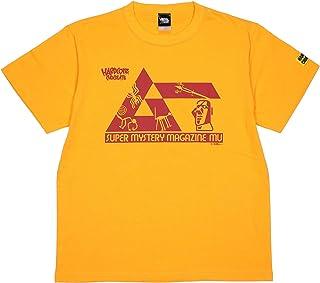 (ハードコアチョコレート) HARDCORE CHOCOLATE 月刊ムー ナスカの地上絵 巨大ネコ (パラカスゴールドクラックプリント)(SS:TEE)(T-1545MS-GO) Tシャツ 半袖