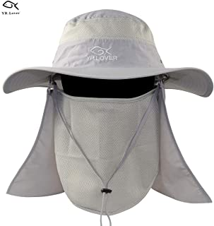 fb24bb19112 Lover New Fishing Outdoor Sun Hat with Removable Neck Face Flap