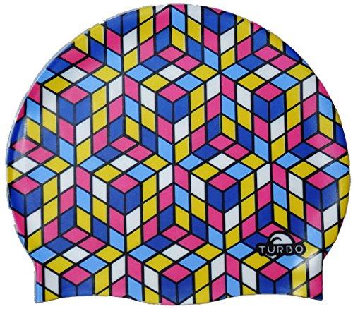 Turbo - Cuffia per Piscina in Silicone Modello Cube