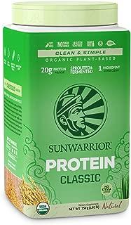 Sunwarrior, Protein Rice Classic Natural Organic, 750 Gram